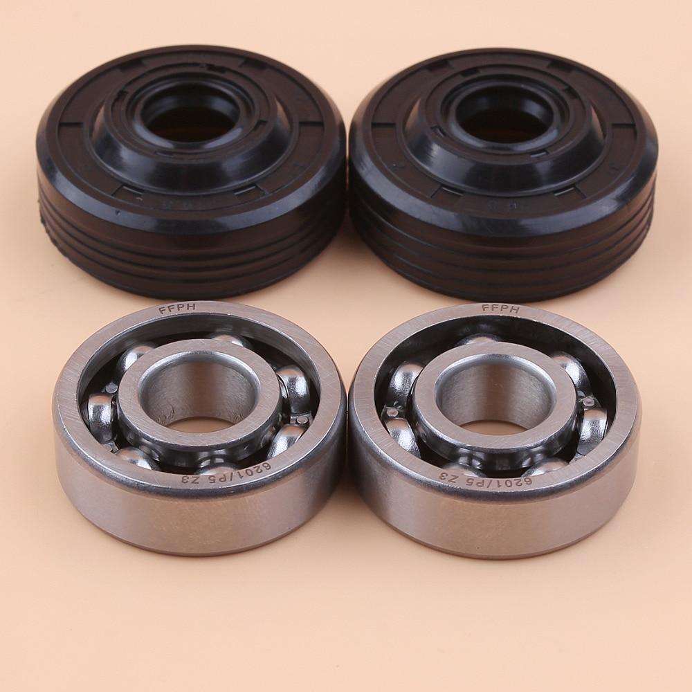 Crank Bearing Oil Seal Kit For Husqvarna 136 137 141 142 235 236 240 235e 240e 36 41 Gasoline Chainsaw 530056363, 530 05 63 63
