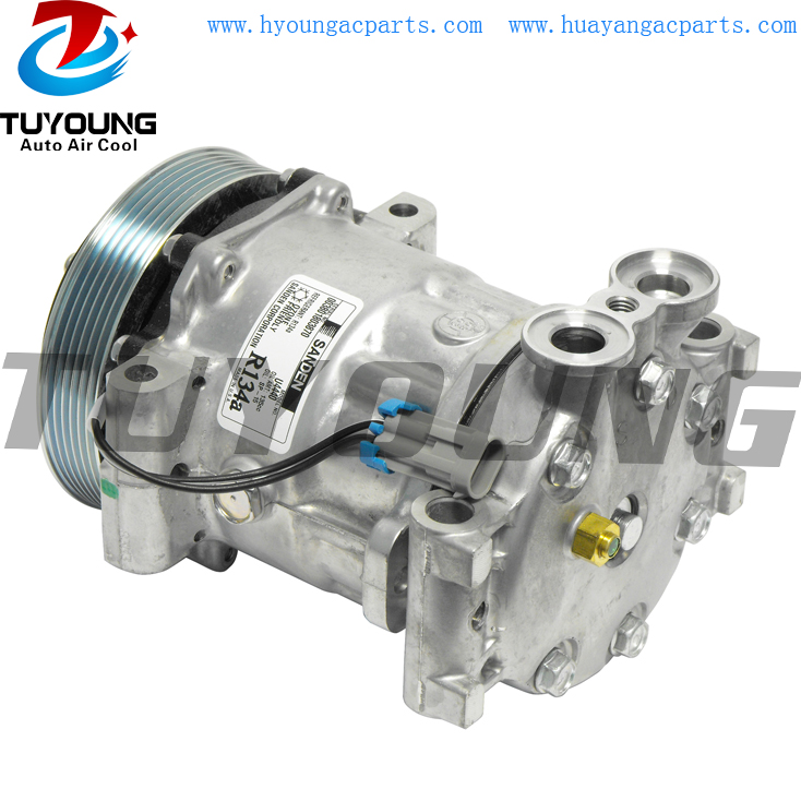7H15 4406 auto ac compressor for Chevrolet Astro Isuzu Hombre 15112552 6511340 CO 4440 509650 2010658S 5511340 19151514 191686877H15 4406 auto ac compressor for Chevrolet Astro Isuzu Hombre 15112552 6511340 CO 4440 509650 2010658S 5511340 19151514 19168687
