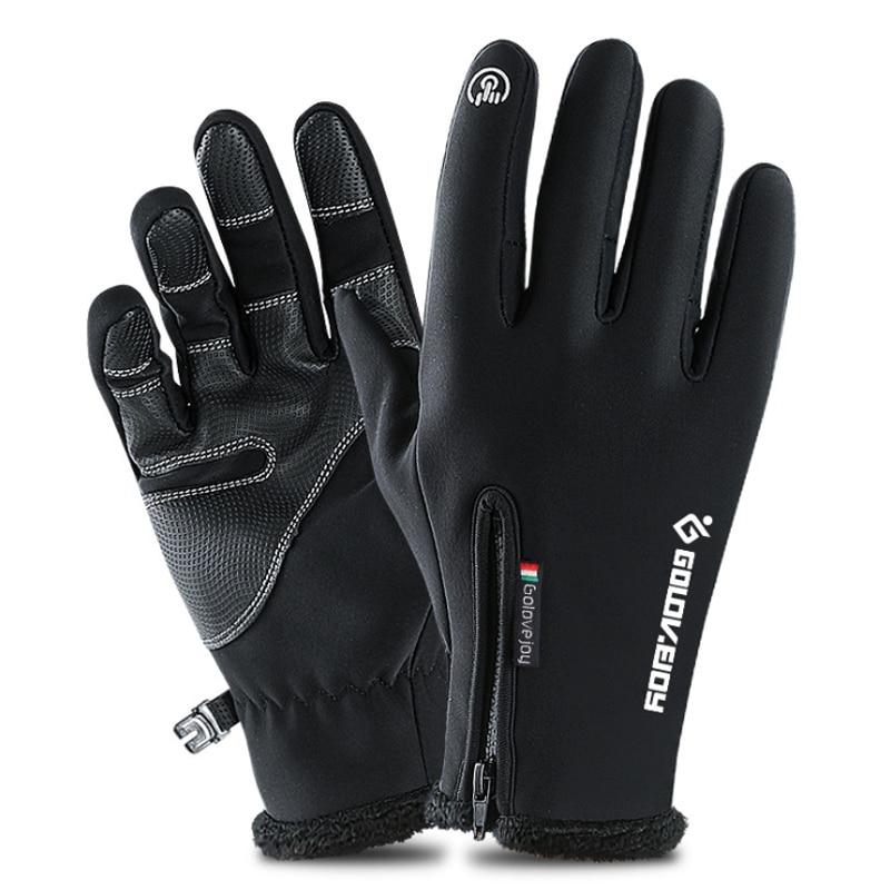 Touchscreen Ski Handschuhe Winter Fleece Winddicht Snowboard Handschuhe Schnee Motorrad Skifahren Handschuhe Sportswear Erwachsene Kinder Handschuhe