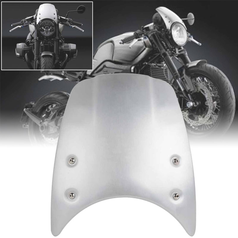 цены MAYITR High Quality Aluminium Windshield Windscreen Headlight Fairing for BMW R Nine T with Mount Accessories