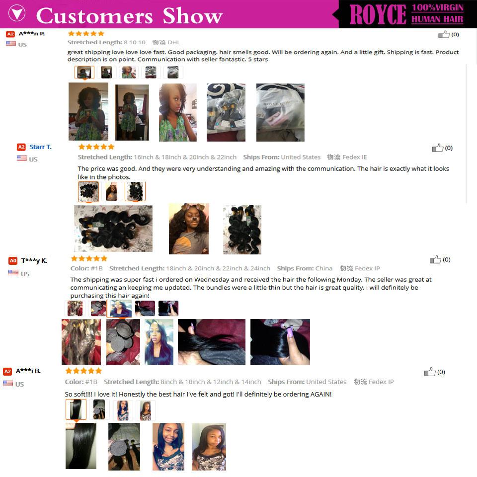 human hair customer show