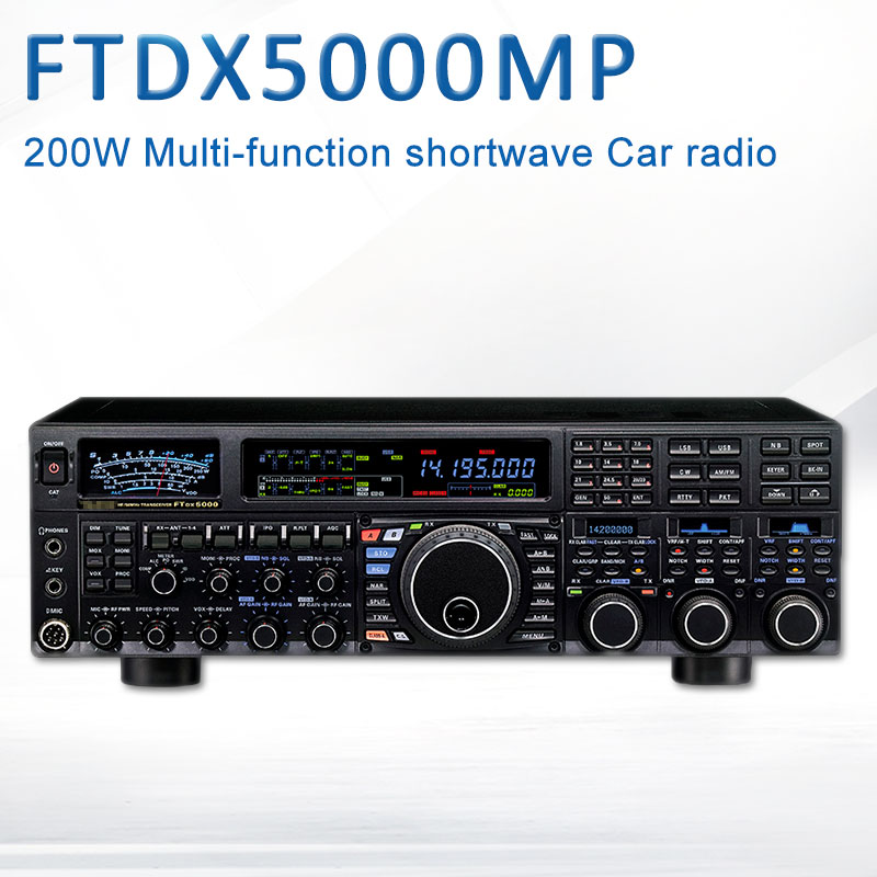 Apply To Yaesu FTDX5000MP HF / 50MHz 200W Multi-Function Shortwave Radio Car Radio