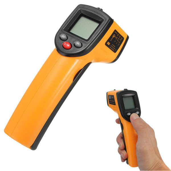 GM320 Non-Contact Laser LCD Display Digital IR Infrared Thermometer Temperature Meter Gun -50C to 330 C  цены