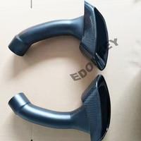 One Pair Especial full Carbon Fiber Car Exhaust Pipe Whole Set Muffler Tip For BMW E71