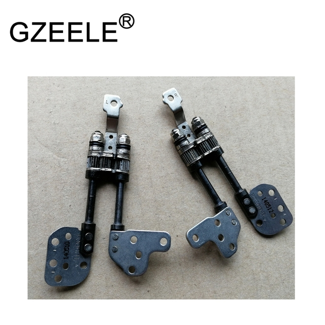 GZEELE New Laptop LCD Hinge For ASUS TP500 TP500L Hinges L+R for Touch version