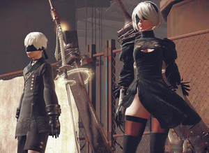 Image 5 - Hot Games NieR Automata 9S Cosplay Costumes Men Fancy Party Outfits Coat YoRHa No. 9 Type S Full Set for Halloween