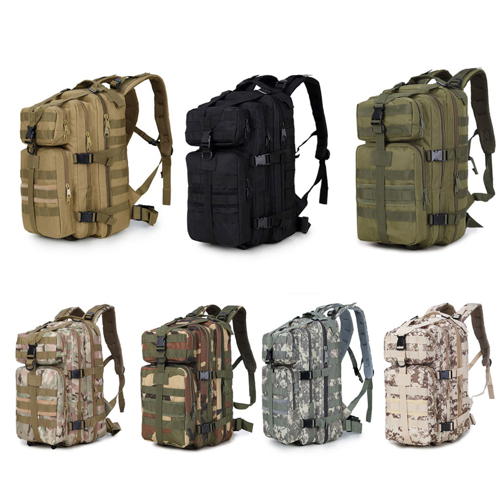 35L Military Tactical Assault Backpack Waterproof Army Molle Shoulder Bag Hiking Camping Hunting Rucksack YS-BUY