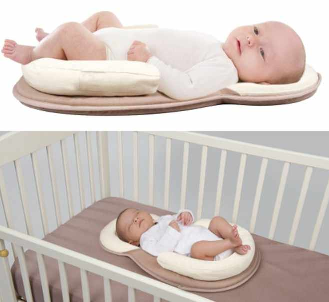 Baby Stereotypes bed mattress Infant Newborn Anti-rollover Mattress bed For 0-12 Month Baby Sleep Position Pad protection pillow