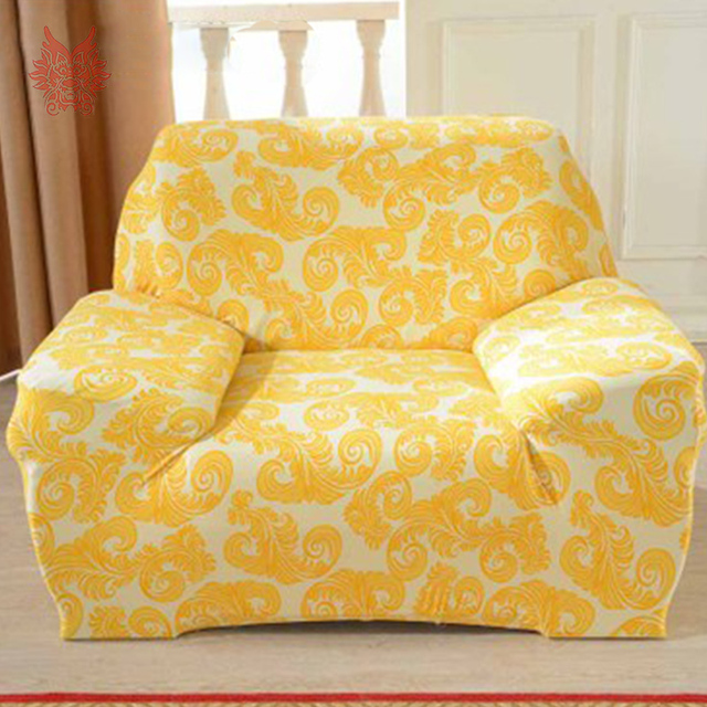 Free Shipping 1seat Floral Print Stretch Seat Covers Slipcover