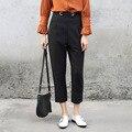 Casual Ankle Length Harem Pants Women Spring Trousers Business Ladies Fashion Black Novelty Pants Suit Pants Street Style