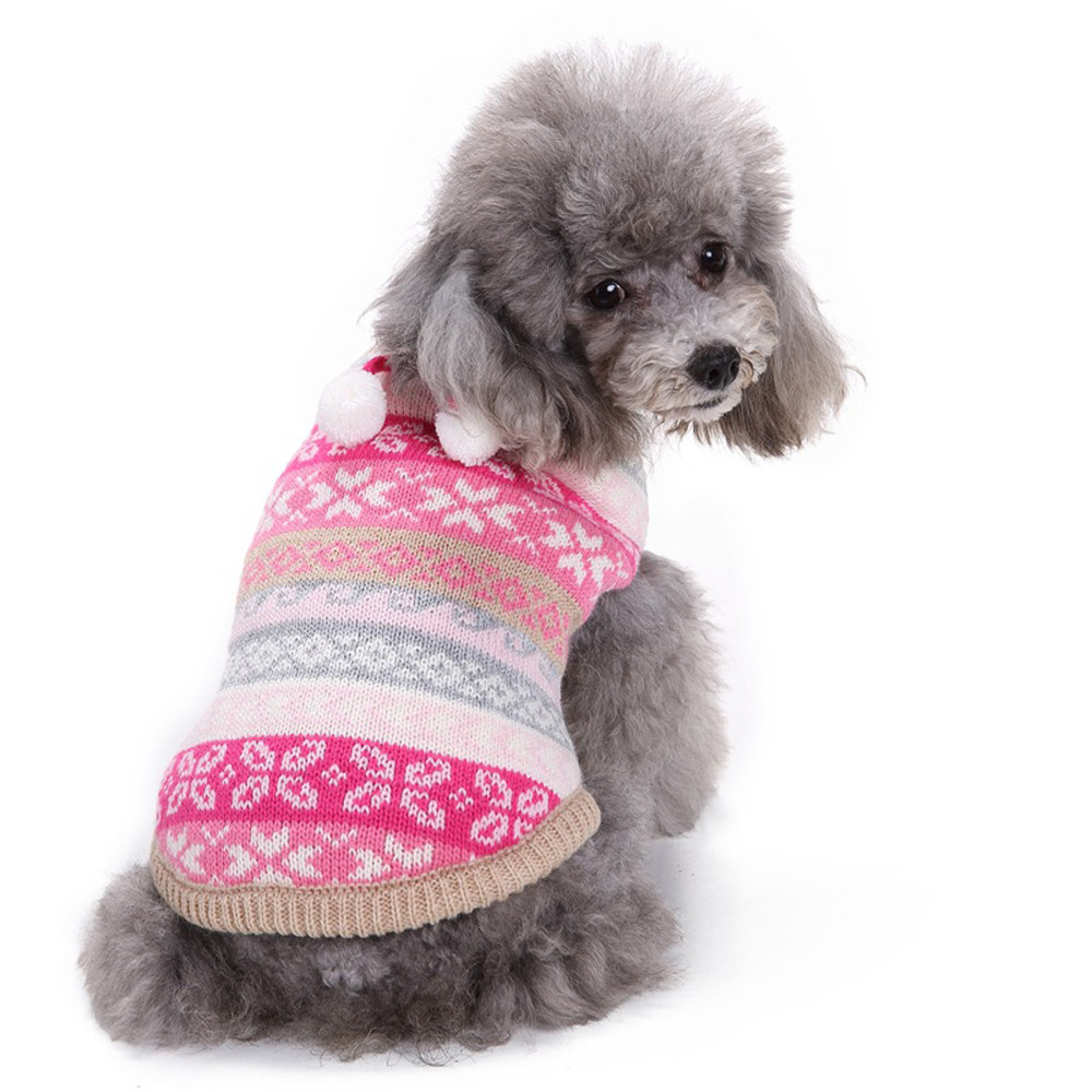 Dog Clothes For Small Dogs Pet Products Clothing Christmas Fashion Comfortable Pet Clothes Festival Dress Sweater Knitwear