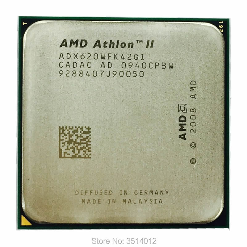 AMD Athlon II X4 620 2.6 GHz Quad Core CPU Processor ADX620WFK42GI Socket AM3-in CPUs from Computer & Office