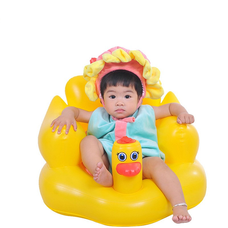 Free Shipping Inflatable Baby Chair Feeding Portable Folding Infant ...
