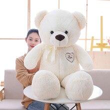 1pc 90/110cm Big baby cute Teddy bear Studded Plush toys lovely dolls Gifts for girls Children kids birthday Christmas gift