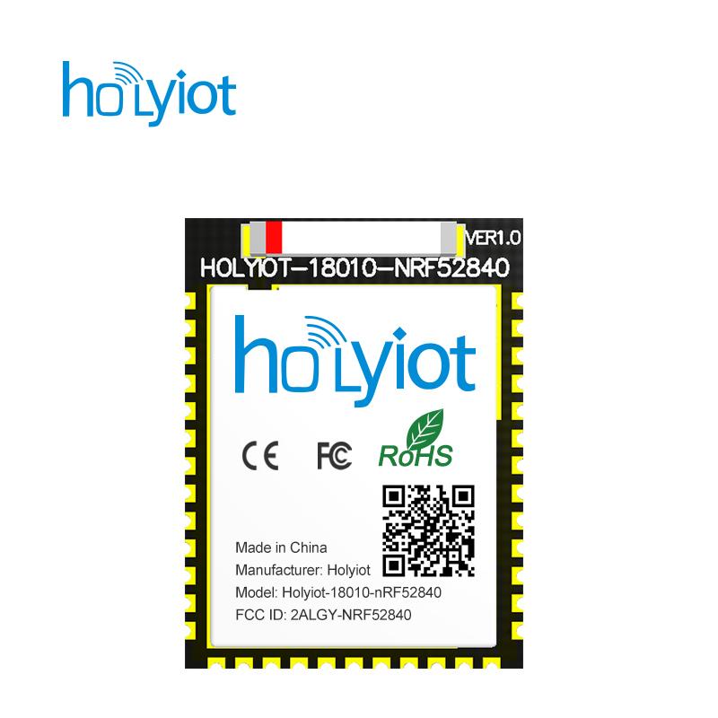 US $6 93 5% OFF|holyiot 18010 Nordic nRF52840 module Bluetooth low energy  development board for BLE mesh bluetooth 5-in Home Automation Modules from