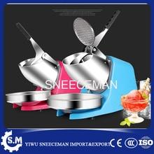 85 kg/h de alta eficiencia de acero inoxidable comercial eléctrica bar de nieve cono trituradora de hielo máquina de afeitar de hielo automático que hace la máquina 220 v