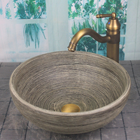 Bathroom Porcelain Ceramic Vessel Sink Basin Wash Basin Lavatory