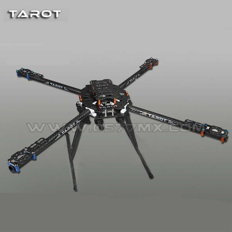 Tarot 650 Carbon Fiber Aircraft Fully Folding FPV Quadcopter Frame Kit TL65B01