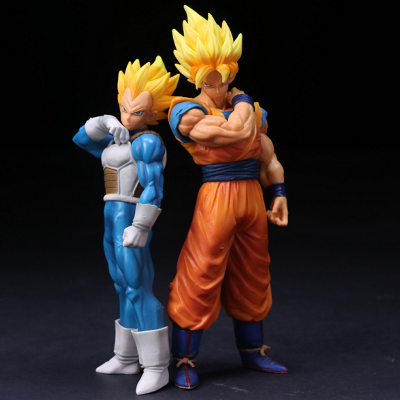 1pcs/lot Dragon Ball Z Figures ROS Son Goku Super Saiyan Vegeta Dragonball Z PVC Action Figures Toys 18-21cm toys Collection 6pcs set dragon ball z super saiyan pvc action figures dragonball z son goku vegeta battle ver figure toys collection model toy
