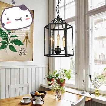 מזבח מודרני נר תליון מנורת LED נברשת Replica אור מתכת קבועה השעיה נר תאורה
