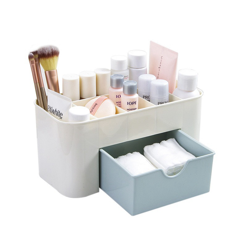 Plastic Makeup Organizer Cosmetic Nail Polish Brush Organzier Jewelry Storage Organizer Make Up organizador storage dropshipping