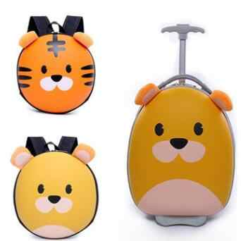 Kids Travel Suitcase Cartoon Suitcase for boys wheeled suitcase for girls Children Trolley Bags for kid Rolling luggage suitcase