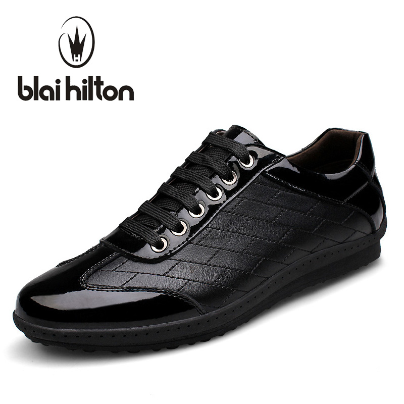 Blaibilton Brand Luxury Genuine Leather Patchwork men casual shoes Fashion Designer Breathable Mens Shoes Male Footwear SD16531 new fashion men luxury brand casual shoes men non slip breathable genuine leather casual shoes ankle boots zapatos hombre 3s88