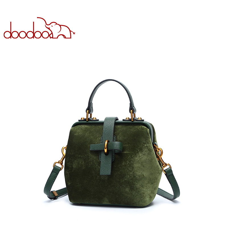 DOODOO Brand Ladies Artificial Leather Top-handle Bag Belt Decoration Small Tote Women Handbags Female Shoulder Messenger Bags doodoo brand fashion women bag female shoulder crossbody bags ladies artificial leather tassel new small 5 colors messenger bags