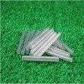 500 unids agujas de acero 2 cable de fibra óptica de la manga de protección termocontraíble del tubo termorretráctil aguja 60 mm tubo de fusión en caliente