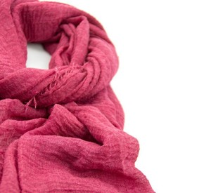 Image 5 - เดี่ยวชิ้นผู้หญิงMaxi Hijabs Shawls OversizeอิสลามWrapsนุ่มยาวมุสลิมFrayed Crepe Premium Cotton Plain Hijabผ้าพันคอ