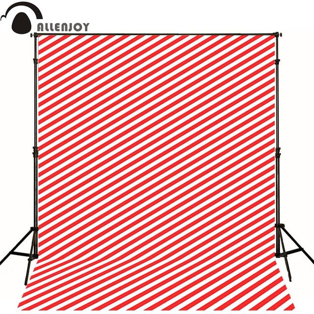 Allenjoy فوتوغرافي خلفية بسيطة الأحمر والأبيض المشارب الوليد التصوير كاميرا fotografica جدار الطابق الخشب