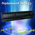 Jigu 10400 mah batería del ordenador portátil para hp pavilion dv4 dv5 dv6 dv6t g50 g61 compaq presario cq41 cq45 cq50 cq60 cq61 cq70 cq71 CQ40