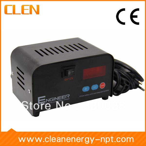 6 V/12 V 1A/2A/3A/4A carregador de bateria comutável, Pulso negativo carregador de bateria, carregador Inteligente De bateria de Multi carregador de bateria