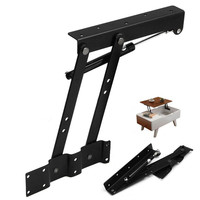 1 Pair Lift Up Top Coffee Table Lift Hinge High Quality Table Hinge DIY Hardware Tools
