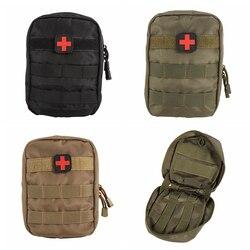 Outdoor Emergency Military Package taktyczna apteczka medyczna Molle Medical EMT Cover Travel Hunting Utility w Torby wspinaczkowe od Sport i rozrywka na