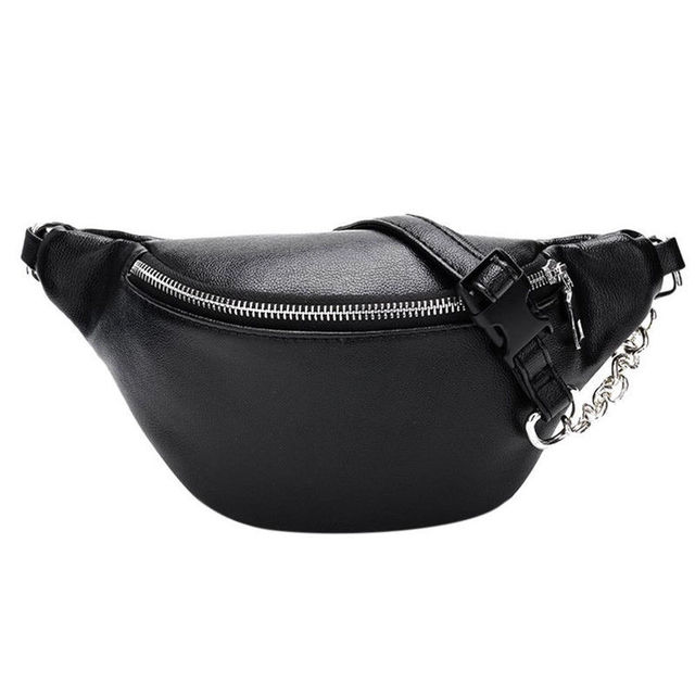 a477610db6f4 2018 New Style Fashion Bum Bag Fanny Pack Travel Waist Festival Money Belt  PU Leather Pouch Holiday