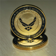 The U.S. United States Air Force Airman Award Aim High quality Fly Fight Win Military Challenge Coins
