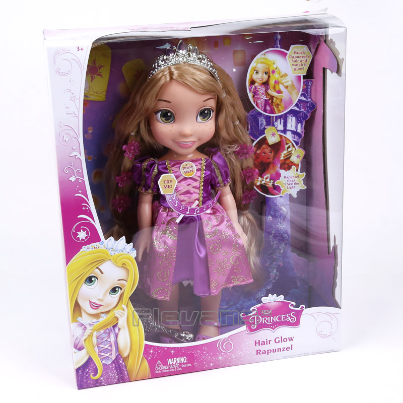 Animators Collection Princess Dolls Singing Rapunzel Action Figure Girls Toys Christmas Birthday Gifts