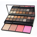 20 Colors Shimmer Grid Eyeshadow And Blusher Combined Palette With Mirror