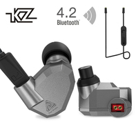KZ ZS5 Bluetooth Headphone Wireless Sport Noise Canceling Earphone Amplifer With Mic Heavy Bass High Quality