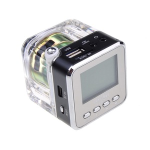 Image 3 - Portable Radio FM Receiver Mini Speaker Digital LCD Sound Micro SD/TF Music Stereo Loudspeaker for Mobile Phone MP3 PK TDV26