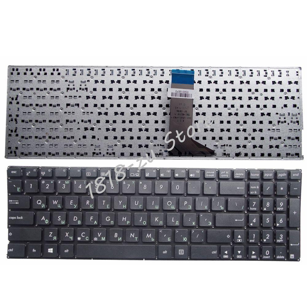 YALUZU RU NEW Russian Laptop Keyboard For ASUS X551M X551MAV F551 F551C F551CA F551M F551MA F551MAV R512 R512CA R512MA R512MAV