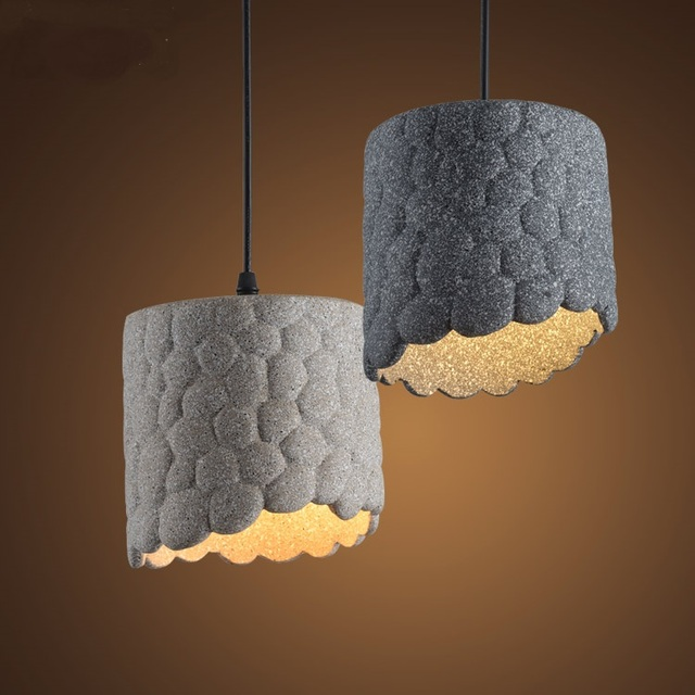 Single head cement pendant light loft retro restaurant lounge bar cafe living room lamp small pendant light za918403 in pendant lights from lights single head cement pendant light loft retro restaurant lounge bar cafe living room lamp small pendant mozeyp Images