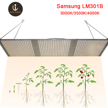 Tabla de luz led de crecimiento cuántico Figolite 120w 240w 320w 480w QB288  Samsung LM301B mix rojo