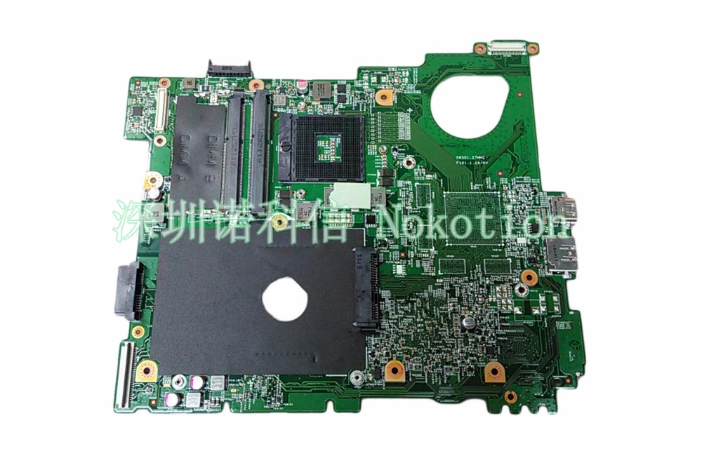 NOKOTION Mainboard For Dell Vostro 3550 v3550Laptop Motherboard Y0RGW 0Y0RGW CN-0Y0RGW DDR3 for dell v3300 laptop motherboard mainboard 48 4ex01 011 100