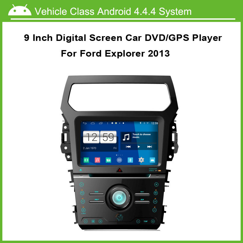 Android Car DVD Player For Ford Explorer 2012-2013 GPS Navigation Multi-touch Capacitive screen,1024*600 high resolution