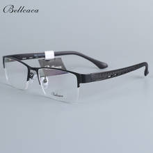 Bellcaca Men Spectacle Frame Eyeglasses Computer Optical Prescription Myopia Eye Clear Lens Glasses For Male Eyewear 6608