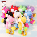 Super Mario Bros Plush Toys 8'' 21cm Running Yoshi Soft Stuffed Plush Doll with Sucker Baby Toy Small Pendant 9 Colors
