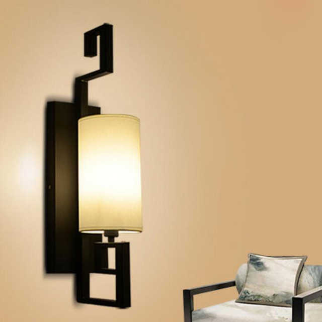 New Chinese style contemporary style ancients wall light corridor ...