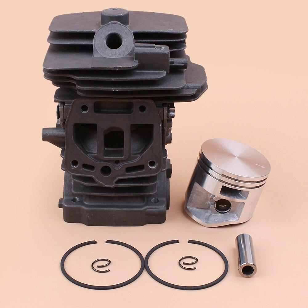 Zylinder kolben kit Für Stihl MS251 Luftfilter 44mm Zündkerze Befestigung